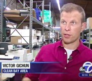 E-waste recycling company CleanBayArea on ABC7 News
