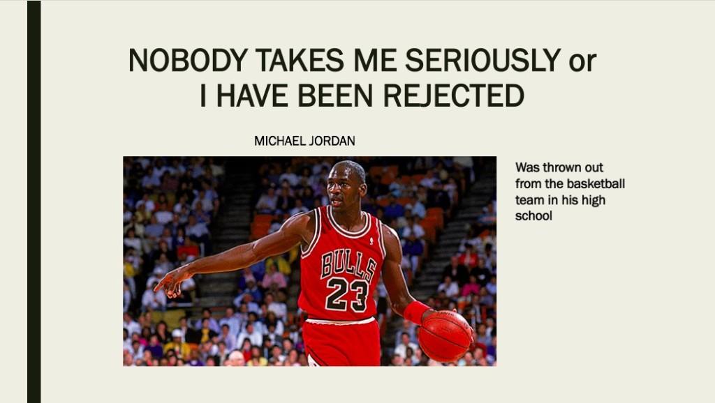 The greatest basketball playerMichael Jordan
