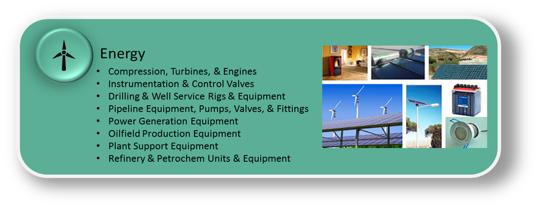 Equipment for Energy Industry